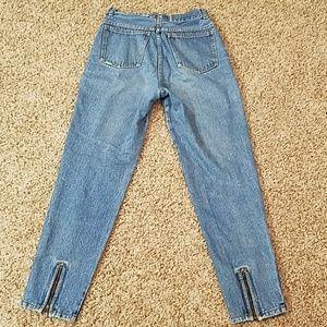 Vintage Jordache ZIP ankle jeans